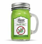 Cannabis Killer Scented Removes Weed Smell Mason Style Jar - 12oz Bestseller