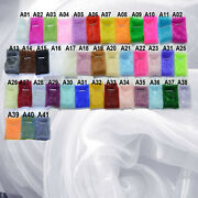 Ax Twinkle Crystal Mirror Organza Sheer Wedding Party Decoration Fabric Material