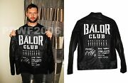 Wwe Nxt Finn Balor Hand Signed Ring Worn Jacket With Inscription Proof And Coa 2