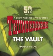Thunderbirds The Vault By Marcus Hearn English Hardcover Book Free Shipping