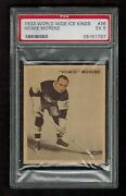Psa 5 Howie Morenz 1933 V357 Ice Kings Hockey Card 36 French And English Nice