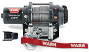 Warn Atv Vantage 2000lb Winch W/mount 1994-1997 Polaris Sportsman 400l