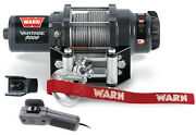 Warn Atv Vantage 3000 Winch W/mount 90-93 Polaris 350l -winch 89030