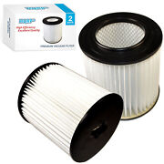 2-pack Hqrp 7 Replacement Filter For Dirt Devil 299-2650 Models Vacuum Systems