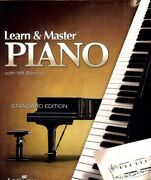 Learn And Master Piano [new Dvd] Oversize Item Spilt