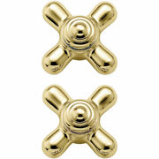 Moen 97562 Monticello Polished Brass Replacement Handles Small 2 1/2