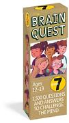 Brain Quest Grade 7 1,500 Questions And Answers To Challenge The Mind By Chris
