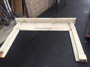C1880 Antique Classic Design Wooden Mantle Fireplace Surround Bow And Swag 8and039 X 67
