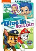 Paw Patrol / Bubble Guppies Dive In And Roll Out [new Dvd] Full Frame, Subtit