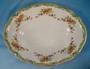 Lichfield Small Oval Vegetable Bowl Johnson Brothers England Staffordshire O