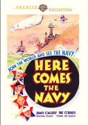 Here Comes The Navy [new Dvd] Full Frame Mono Sound