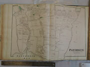 Original 1873 Map Patchogue Village Itand039s Coming Back Long Island Lirr Nice