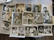 23 1948 + Nfl And College Football Press Photos Alonzo Stagg Jfk Sam Huff + Photos