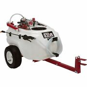 Northstar Tow-behind Boom Broadcast And Spot Sprayer- 21 Gallon 2.2 Gpm 12v Dc