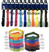 Casual Canine - Dog Puppy Collar - Bulk Rescue Shelter - 11 Colors - Xs S M L