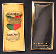 1962 Vermont State Rifle And Pistol 600 Yards Slow Fire Master Medal Shooting
