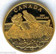 Canada 200 Dollars Or 1987 @ Pandecircche @