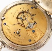 .rare C1889 Appleton Tracy And Co /waltham 18s 15j Bay State Imperial Coin P/watch