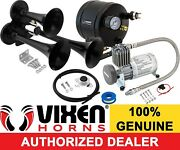 Train Horn Kit For Truck/car/pickup Loud System /0.5g Air Tank/150psi/3 Trumpets