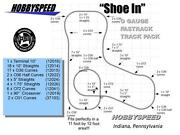 Lionel Fastrack Shoe In Track Pack 11' X 12' O Gauge Train Layout Design New
