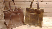 Shopping Bag Hand Made Genuine Leather Hand Made In Our Shop