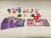 Kinder Surprise Hello Kitty Limited Edition Full Set Of 6 + Rare Ring China 2016