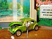 1953 53 Vw Beetle Bug Limited Edition Volkswagon 1/64 Deluxe Real Riders M2