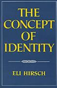 The Concept Of Identity By Eli Hirsch English Paperback Book Free Shipping