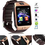 Bluetooth Smartwatch Unlocked Watch Cell Phone All In 1 For Android Men Women