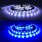 5m Rgb 3528 Waterproof Led Strip Light Smd Remote 12v Power Adapter 4 Color