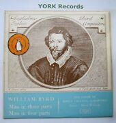 Zrg 5362 - Byrd - Mass In Three Parts King's College Cambridge - Ex Lp Record