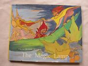 Old Children's Book The Magic Lamp By Inis Hurd 1989 Gc