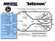 Lionel Fastrack Bodaceous Track Layout 6and039 X 11and039 O Gauge Switch Siding Pack New
