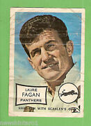 1970 Scanlens Rugby League Mini Poster - Laurie Fagan Penrith Panthers