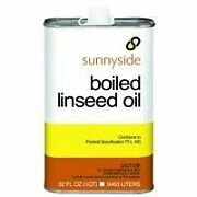 Boiled Linseed Oil Fortifies Oil-based Paints And Penetrates And Protects Wood 1qt