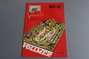 X446 Vollmer Train Catalogue Maquetteho N 1971 1972 28 Pages 29,521 Cm F