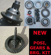 9 Ford Trac-lock Posi 28 - Gear - Bearing Kit Package - 4.56 Ratio - 9 Inch New