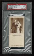 Psa 9 William Powell Myrna Loy 1948 Dinkie Grips Thin Man Card Complete With Tab