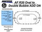 Lionel American Flyer Fastrack Double Bubble Track Layout Add On Pack S Gauge