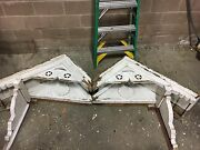 Circa 1880and039s Victorian Gingerbread House Gable Pediment Double Peak Star And Moon