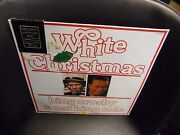 Bing Crosby White Christmas And Nat King Cole Lp 1981 Joker Records Sealed