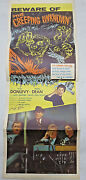 The Creeping Unknown Aka The Quatermass Xperiment Poster Val Guest Signed 1955