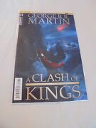 Game Of Thrones A Clash Of Kings 1 C Cover Dynamite Nm Comics Book Game Throne