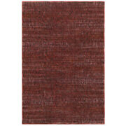 Sphinx Red Single Color Achromatic Borderless Contemporary Area Rug Solid 8033k