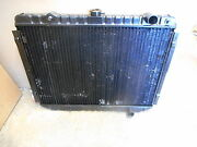 New Vintage 1975 1981 Dodge 6 Cylinder With A/c Brass And Copper Radiator