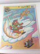 Talespin Tale Spin Disney Vtg Jigsaw Puzzle Golden 4664a-14 Frame Tray Complete