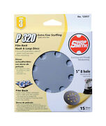 Shopsmith 5 In. Dia. Sanding Disc 320 Grit Extra Fine Hook And Loop 15 Pk
