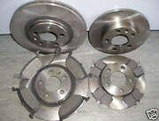 Vw Beetle Front And Rear Brake Discs And Pads 1.6 1.9 2.0 1998 - 2010