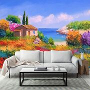 3d Colored Woods Cabin 283 Wall Paper Wall Print Decal Wall Deco Aj Wallpaper