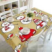 3d Santa Claus 46 Tablecloth Table Cover Cloth Birthday Party Event Aj Wallpaper